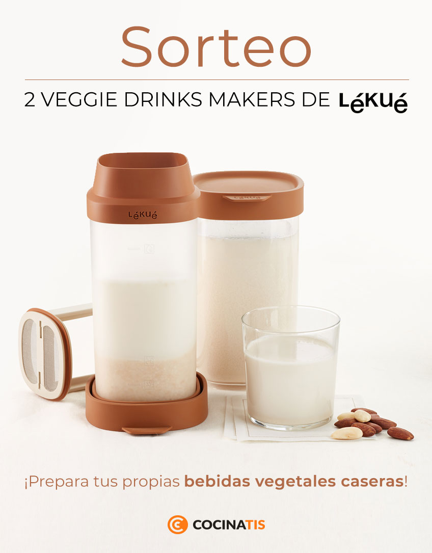 Sorteo Veggie Drinks Maker de Lékué